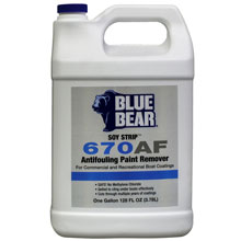 670AF Antifouling Paint Remover - 1 Gallon