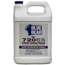 720ES Blue Bear Exterior Surface Cleaner