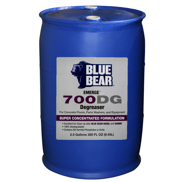 Franmar 700DG Blue Bear Emerge Surface Degreaser  - 55 gallon