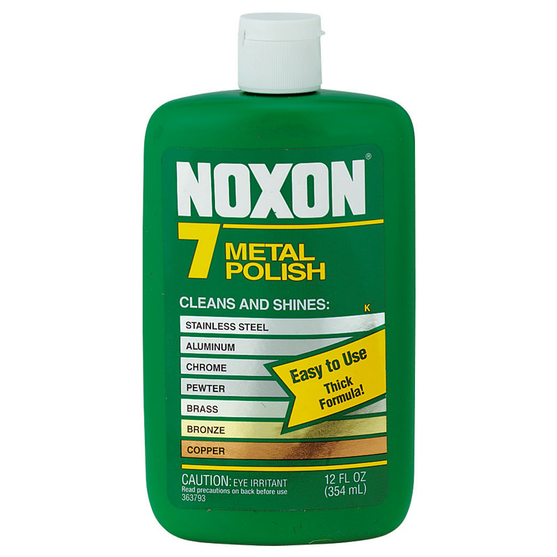 Noxon 7 Metal Polish, Liquid - (12) 12 oz. Bottle