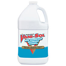 Vani-Sol Bulk Disinfectant Bathroom Cleaner - (4) 1 Gallon