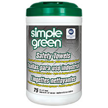 Citrus Scented Safety Towels - (6) 74 Wipes SMP13351