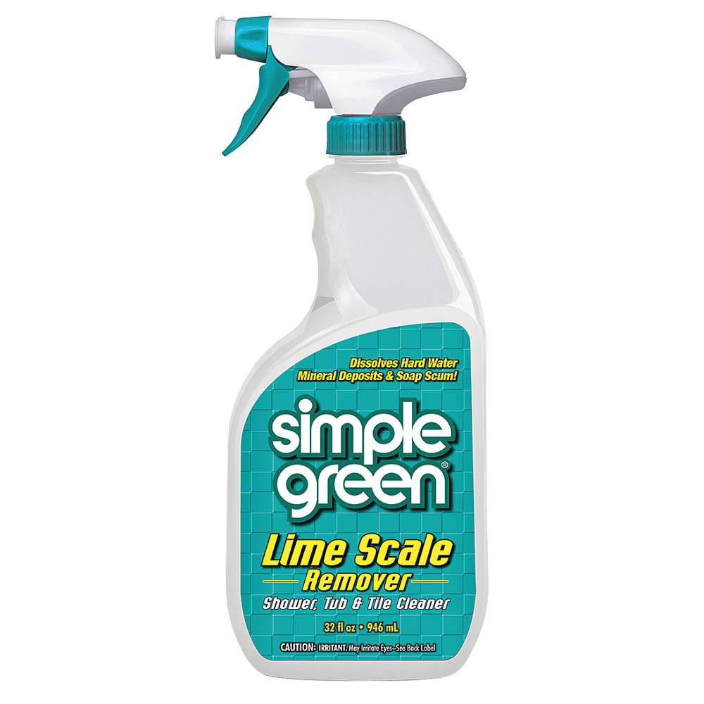 Simple Green Lime Scale Remover -  32 oz. Spray Bottles