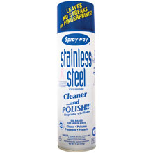 Sprayway Stainless Steel Polish Cleaner