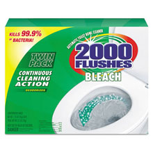 2000 Flushes Blue Plus Bleach, 1.25oz