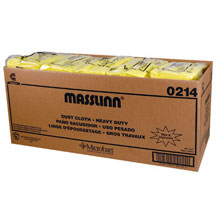 "Masslinn Dust Cloths - 40"" x 24"" - Yellow CHI0214"