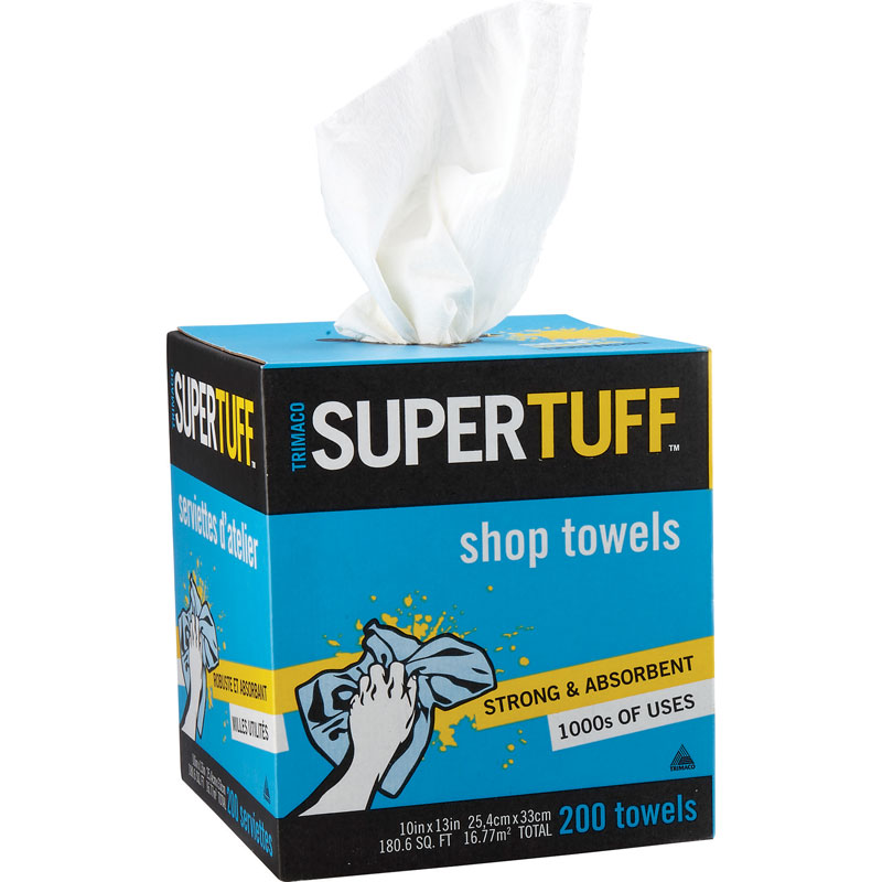 Shop Towels SuperTuff Box of 200