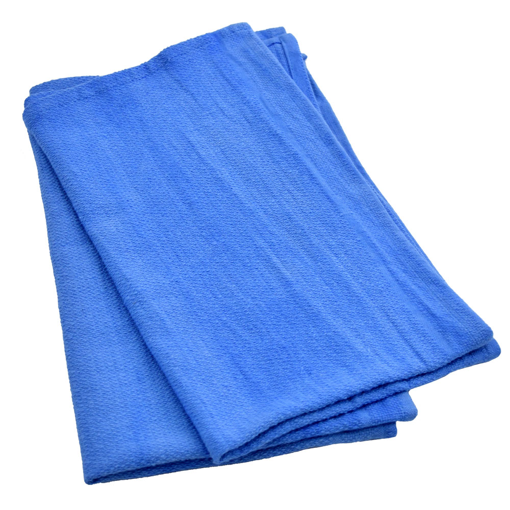 Galaxy Blue Huck Cleaning Towels