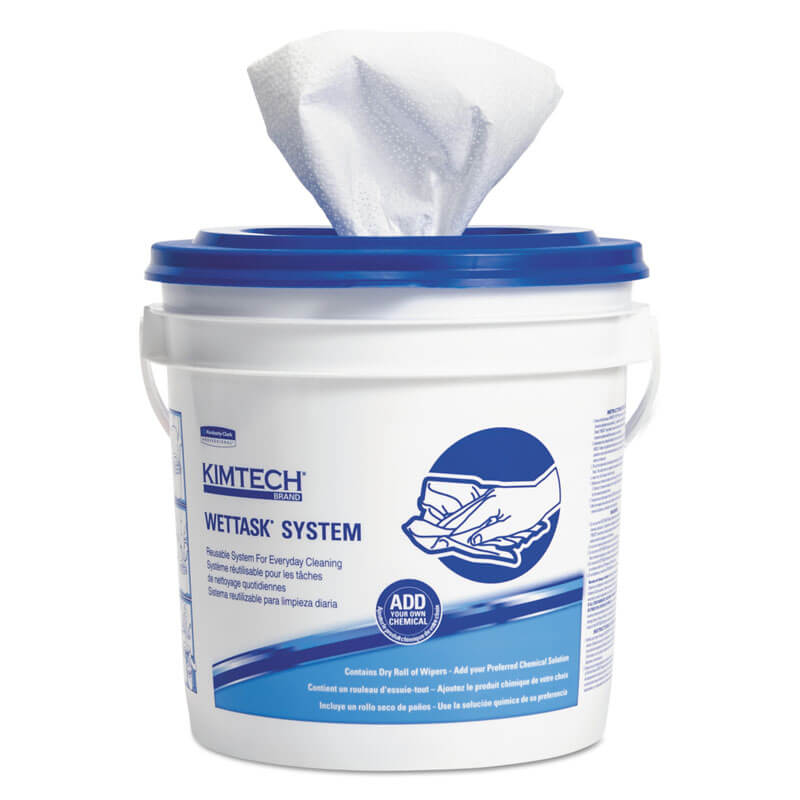 Kimtech Prep WetTask System Disinfectant Wipers - 12