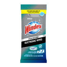 Windex Electronic Premoistened Wipes