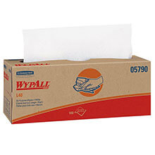 Kimberly Clark WypAll® L40 Wipers POP-UP® Box, 100 Wipers per Box KCC05790