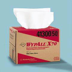 Kimberly Clark WypAll® X70 Manufactured Rags in BRAG® Box KCC41300