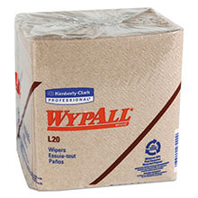 WypAll L20 Quarterfold Wipers