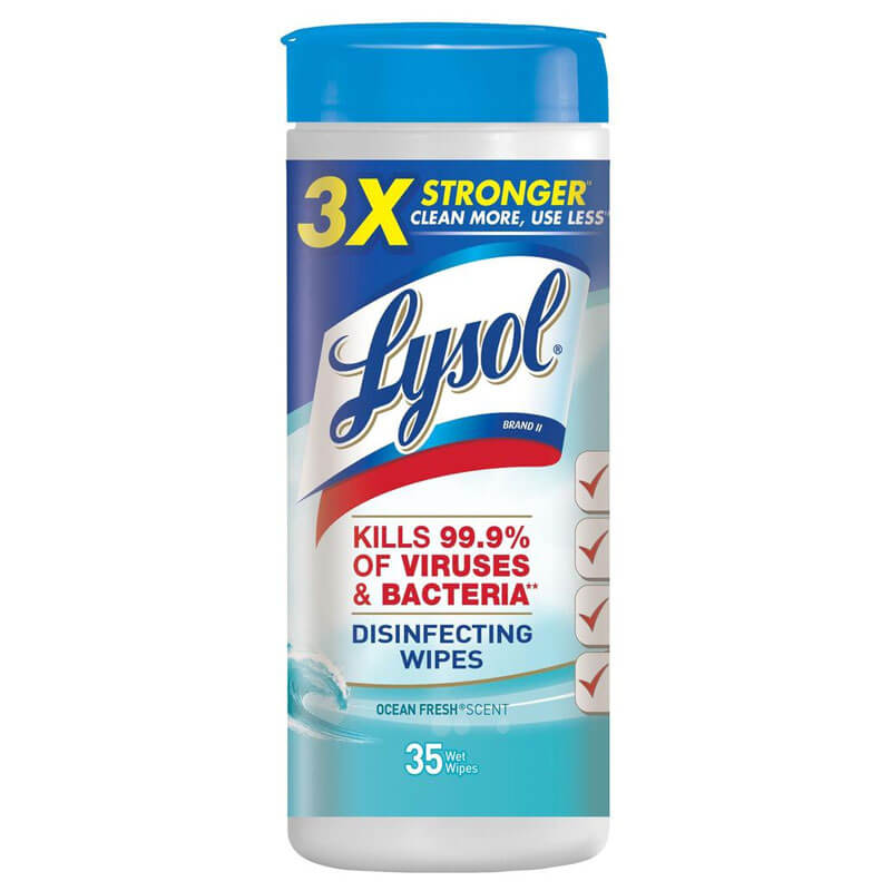Disinfecting Wipes - (12) 35 Wipes