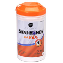 Sani-Hands Kid Sanitizer Wipes
