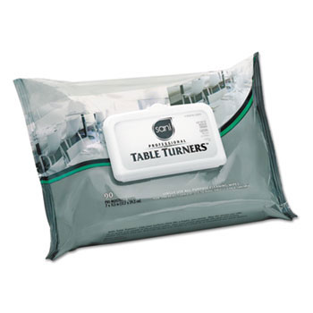 Sani Table Turners All Purpose Cleaning Wipes