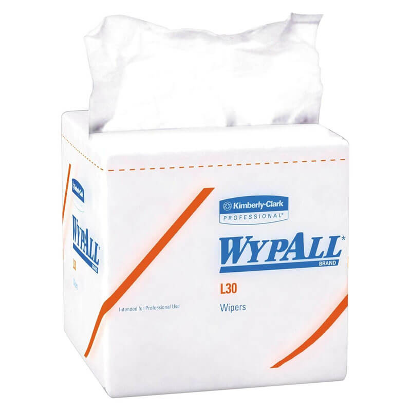 Kimberly Clark WypAll® L30 Quarterfold Wipers