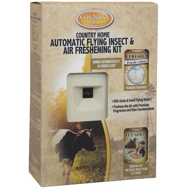 Country Home Kit Flying Insect And Air Freshening Kit