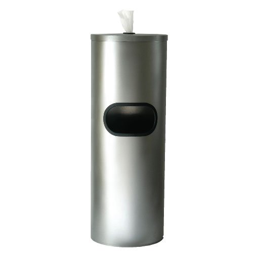 Stainless Steel Floor Stand Wiper Dispenser