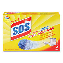 S.O.S Heavy-Duty Steel Wool Soap Pad