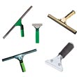 Commercial Window Squeegees & Handles - Janitorial Utility Cleaning Tools