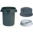 Commercial Dome Top for Receptacles - Janitorial Waste Receptacles & Baskets