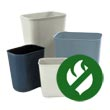 Commercial Fire Resistant/Safe Wastebaskets, Trash Cans & Waste Receptacles - Janitorial Waste Receptacles & Baskets