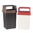 Commercial Hooded Top Receptacles - Waste Receptacles