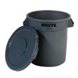 Commercial Round Waste Containers & Lids - Waste Receptacles