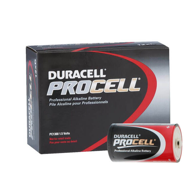 Duracell PROCELL [PC1300] Alkaline Batteries - 12 Pack - Size
