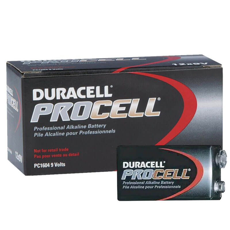 Duracell PROCELL [PC1604] Alkaline Batteries - 12 Pack - Size