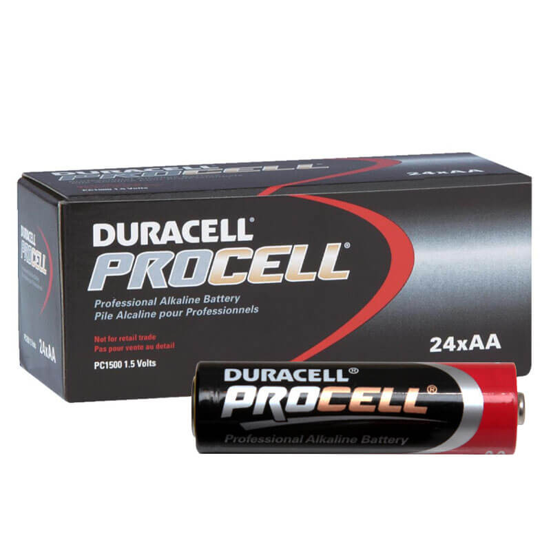 Duracell PROCELL [PC1500] Alkaline Batteries - 24 Pack - Size
