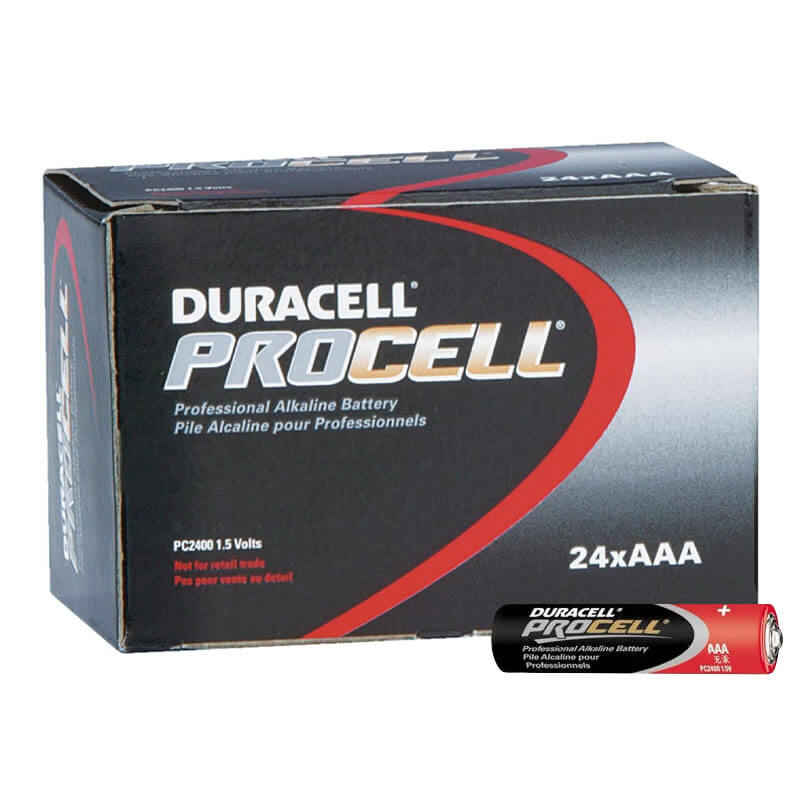 Duracell PROCELL [PC2400] Alkaline Batteries - 24 Pack - Size