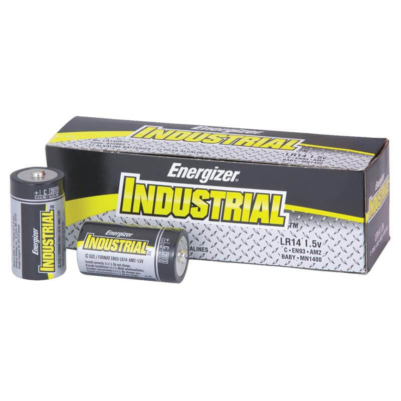 EN93 Industrial C Alkaline Batteries