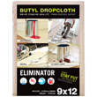 9' x 12' Eliminator Butyl-Back Canvas Drop Cloth