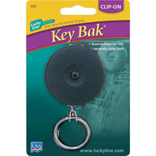 Black Key Bak Retractable Key Chain - 577478