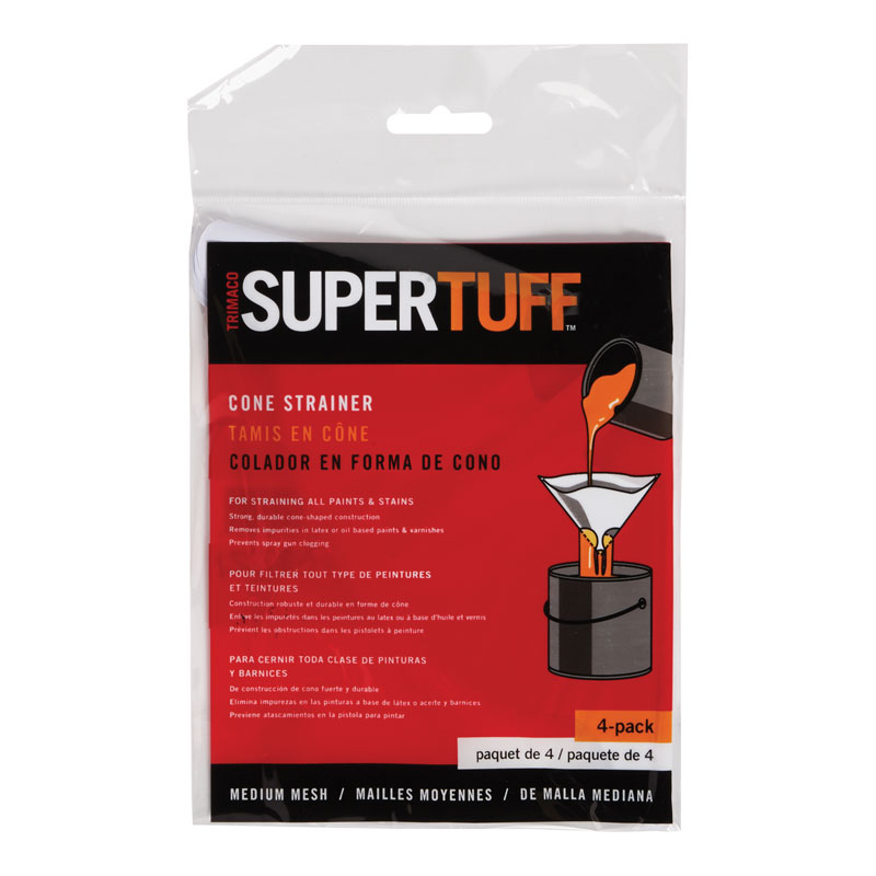 SuperTuff Medium Cone Paint Strainer