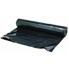 Warp's [4CH15-B] Carry Home® Reinforced Coverall® Plastic Sheeting Tarp - 15' x 25' - 4 Mil. - Black