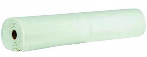 Clear Polyethylene Plastic Sheeting Tarp - 16' x 100' - 6 Mil.