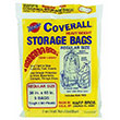 "Warp Bros. Coverall Plastic Storage Bags - 36"" x 60"" - 2 mil. 618195"