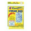 "Warp Bros. [CB40] Original Banana Bags® Coverall Heavyweight Plastic Storage Bag - Transparent - 2 mil. - (4) 40"" x 72"" Bags 618209"
