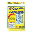 "Warp Bros Coverall Plastic Storage Bags - 40"" x 72"" - 2 mil. 618209"