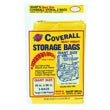 "Warp Bros. [CB45] Original Banana Bags® Coverall Heavyweight Plastic Storage Bag - Transparent - 2 mil. - (3) 45"" x 96"" Bags 618217"