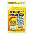 "Warp Bros. Coverall Plastic Storage Bags - 45"" x 96"" - 2 mil. 618217"