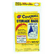 "Warp Bros. Coverall Plastic Storage Bags - 60"" x 108"" - 2 mil. 618225"