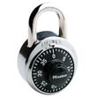 "Master Lock [1500D] Stainless Steel Combination Padlock - 3 Digit Dialing - 1 7/8"" Wide"
