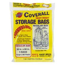 coverall heavyweight plastic storage bag