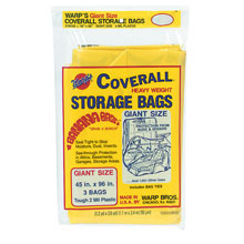 Warp Bros. Coverall Heavyweight Plastic Storage Bag