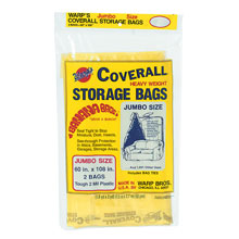 coverall heavyweight plastic storage bags