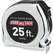 25 ft. Chrome Tape Measure